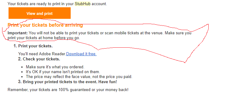photo about Stubhub Printable Tickets named 6 Strategies For Acquiring Tickets Upon Stubhub For The Very first Year