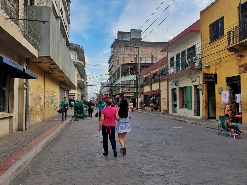 walking street in honduras