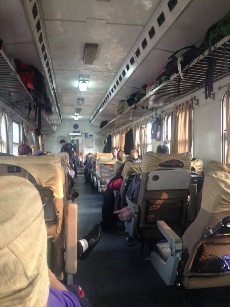 Hanoi to Lao Cai Train