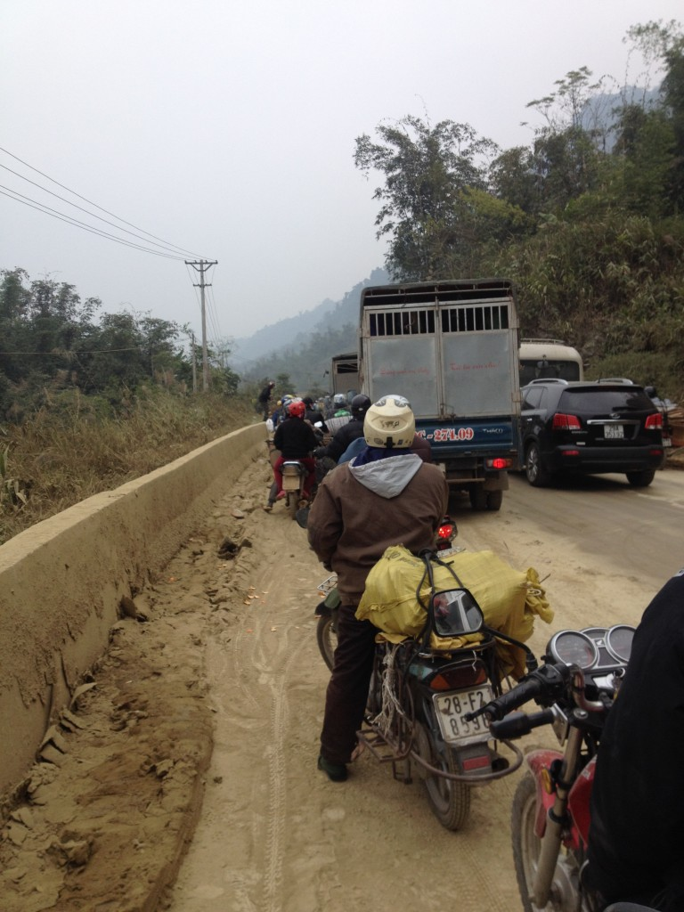 vietnam roadworks