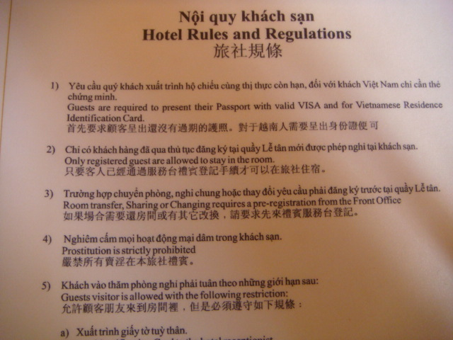 vietnam guesthouse policy