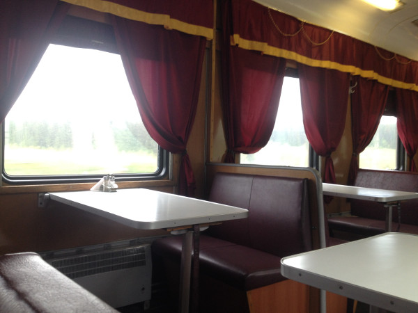 Train Restaurant Car
