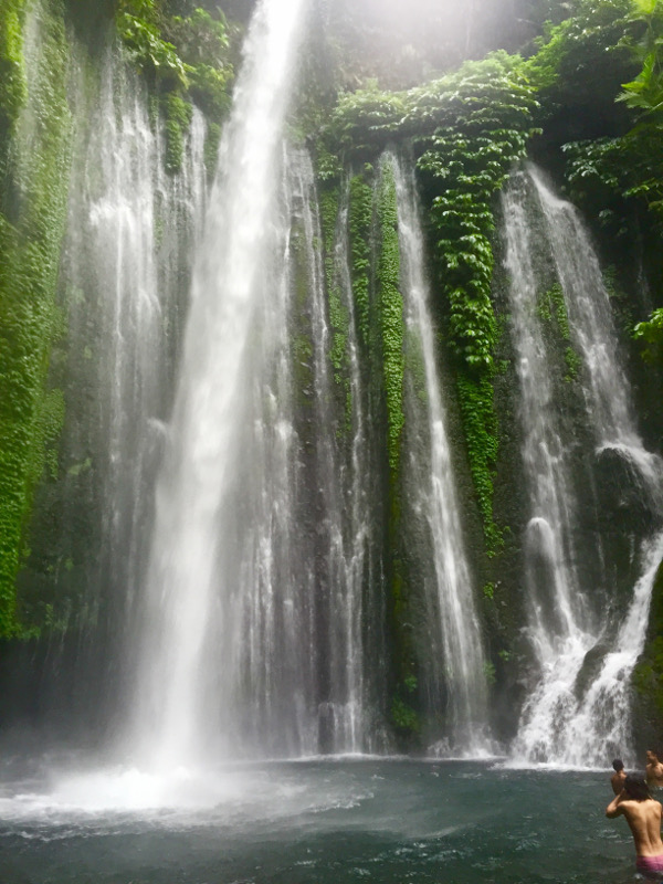 Lombok Waterfalls, Learning To Appreciate Waterfalls