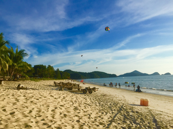 best beach in langkawi