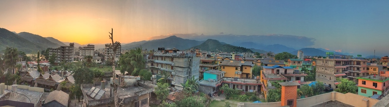 pokhara sunset