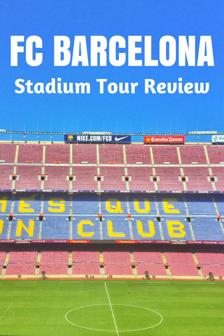 camp nou tour review pin