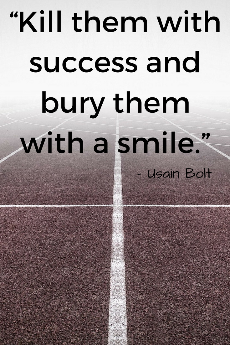 short sports quotes that instil being a nice person