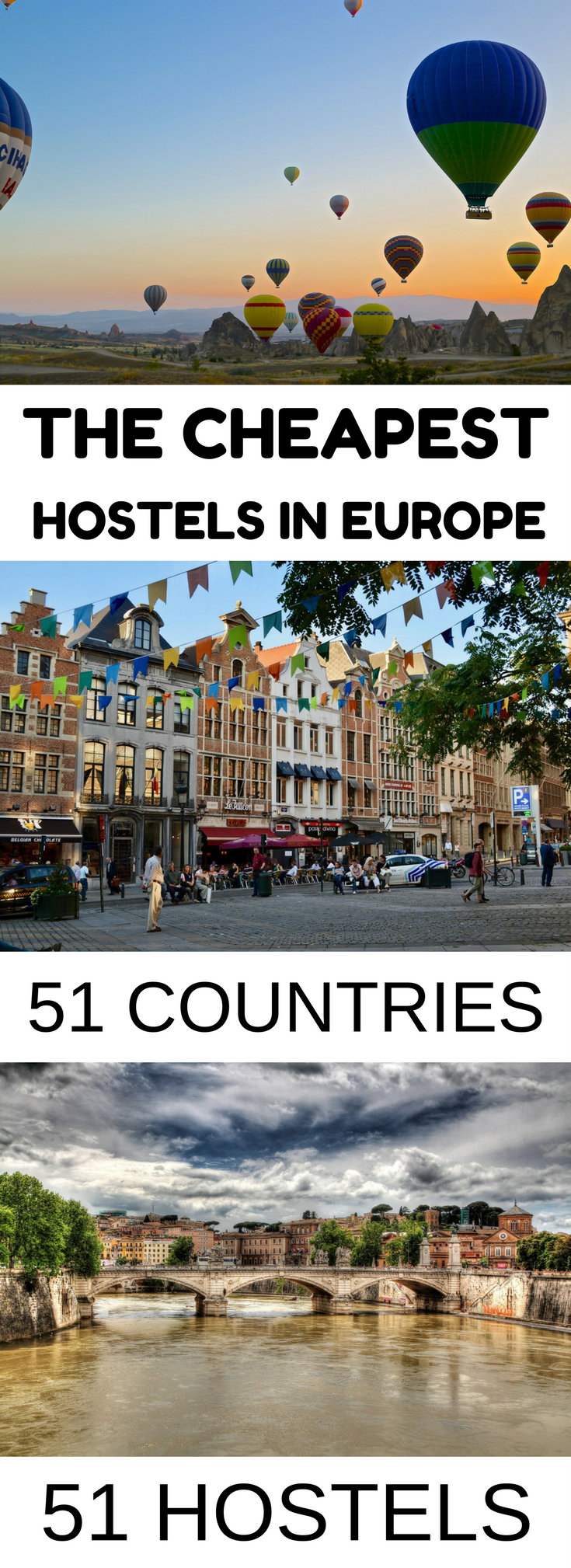 cheapest hostels in europe