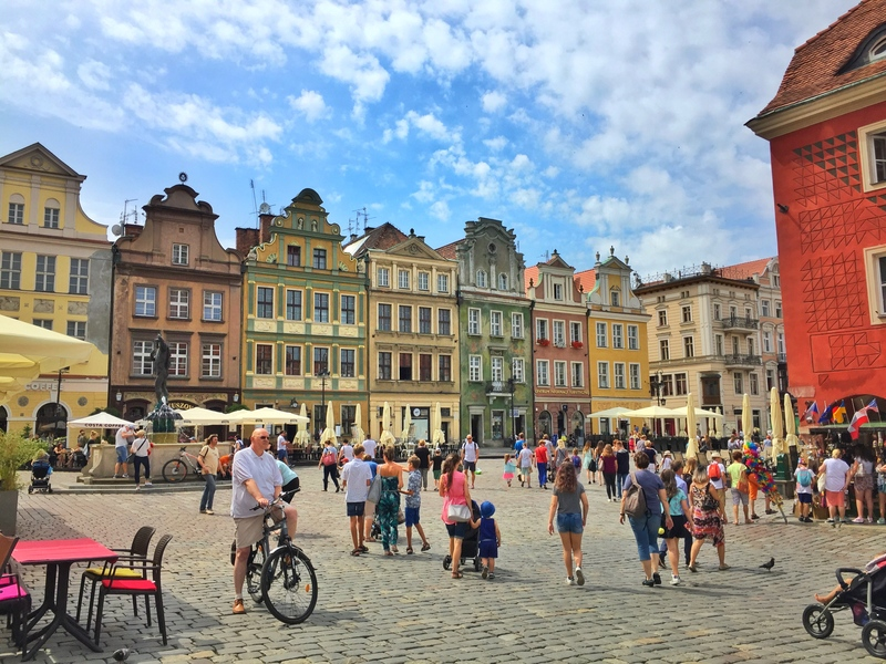 the heart of Poznan
