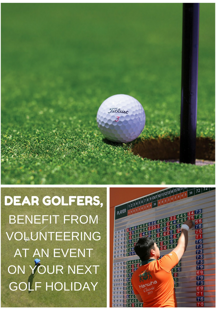 golf volunteering