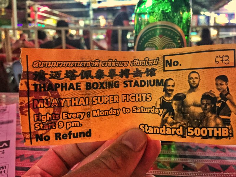 thaepae gate muay thai ticket