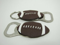 football bottle opener handmade