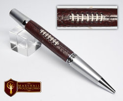 handmade football pen
