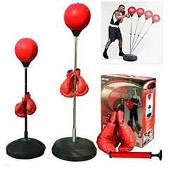 standing boxing speed ball