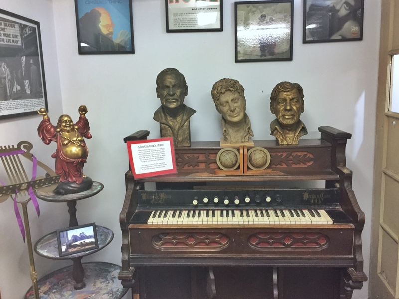 visiting the beat museum