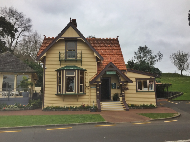cornwall park visitor centre