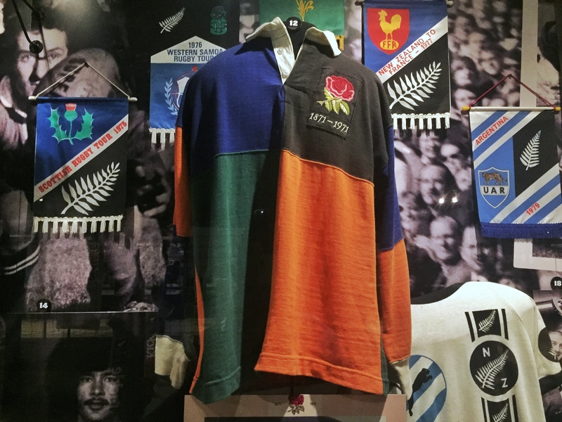 old rugby jersey
